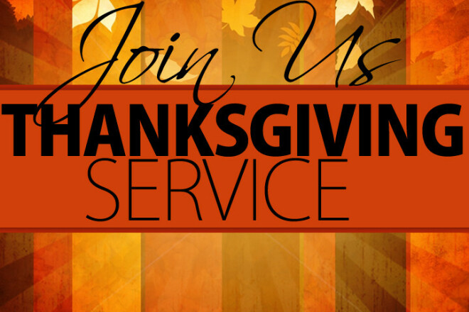 Thanksgiving Service and Pie Social