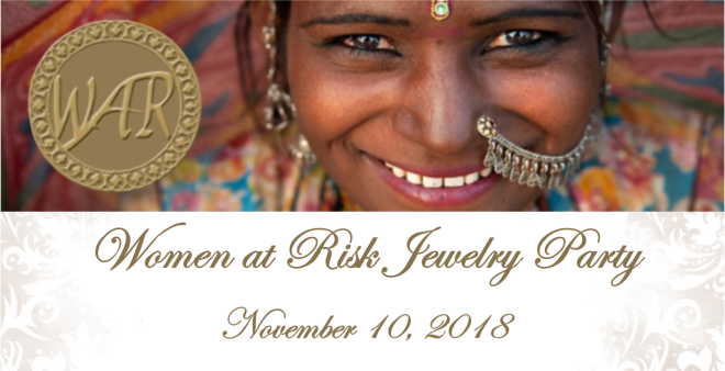 Women At Risk (WAR) International Jewelry Party