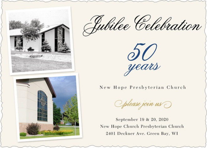 New Hope's 50th Anniversary Celebration